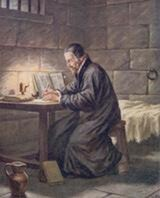 William Tyndale in Vilvorde Prison